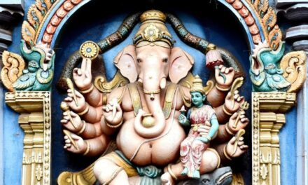 Ganesha's dry skin!