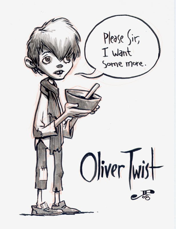 The Twist With Oliver Twist