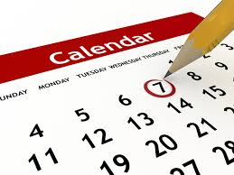 Mark those calendars!