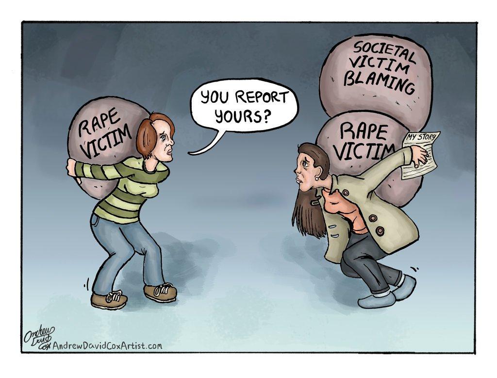 Reporting rape