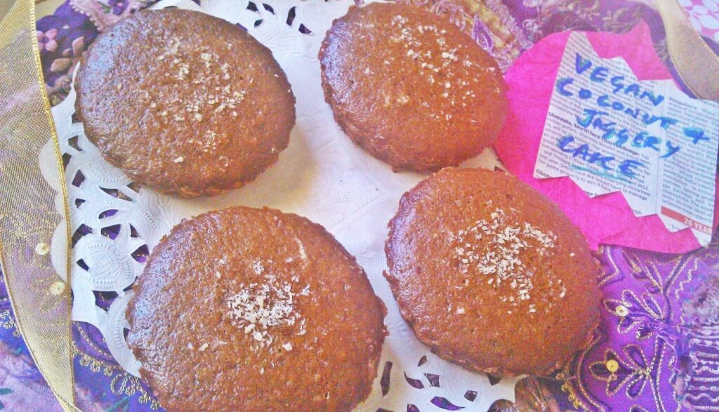 Coconut Jaggery Vegan Cake