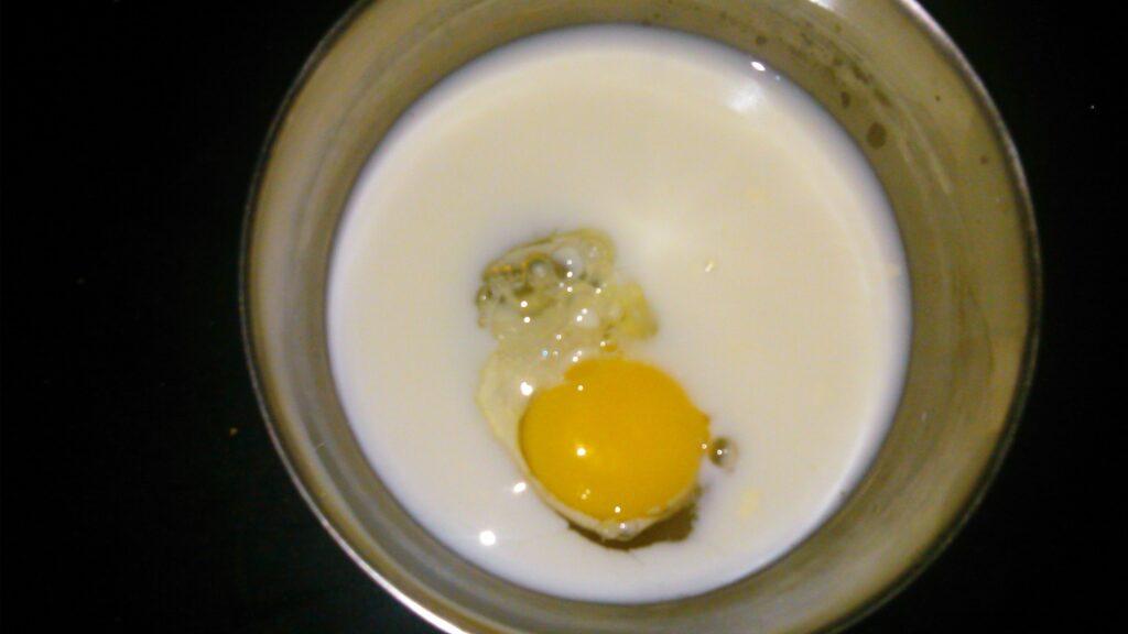 Whisk egg