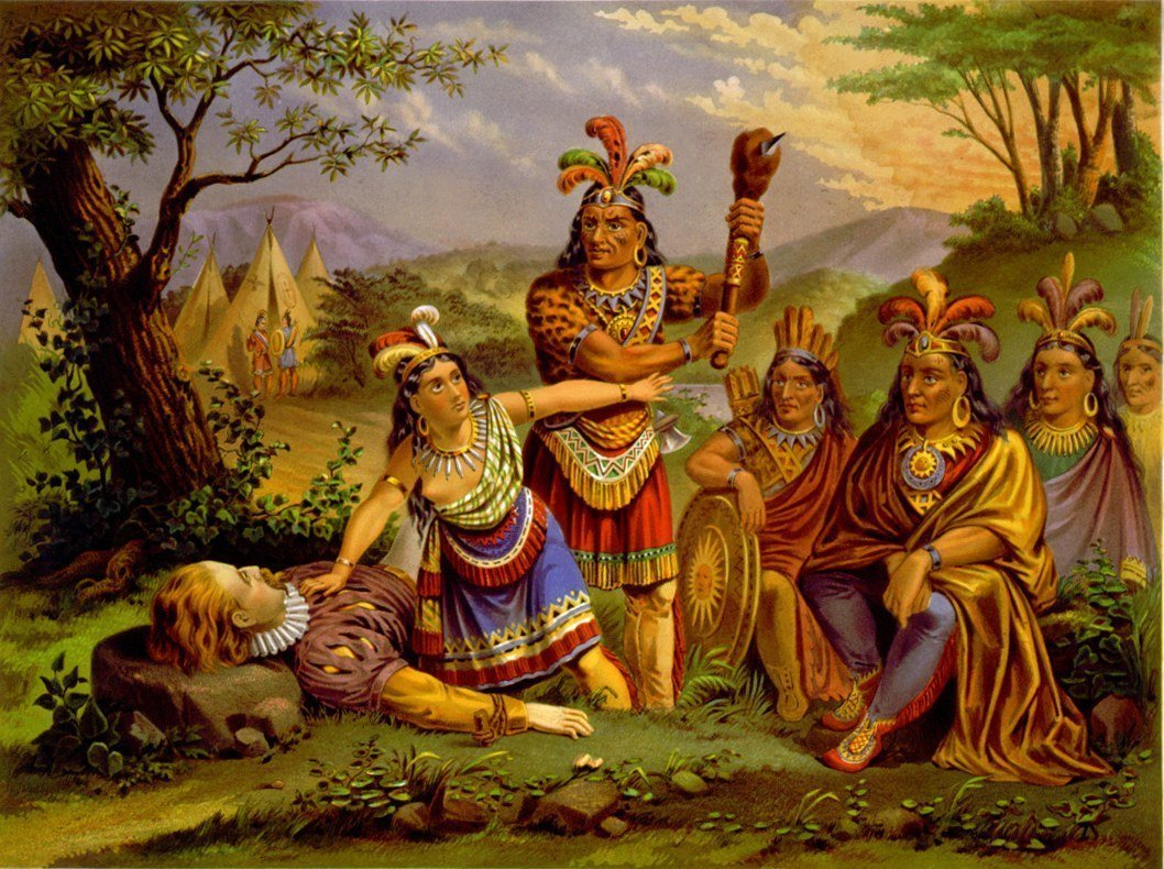 real story of pocahontas 2 | KidsKintha