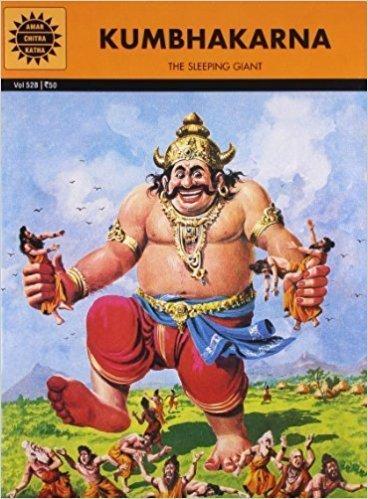 Kumbhakarna by Amar Chitra Katha | Why do we Celebrate Dussehra Vacation | Kidskintha