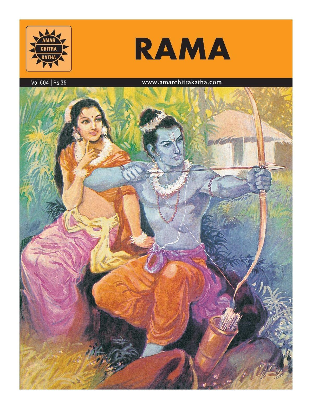 Rama by Amar Chitra Katha | Why do we Celebrate Dussehra Vacation | Kidskintha