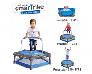 The 3-in-1 Trampoline