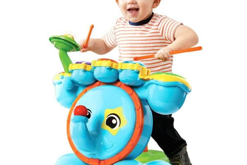 Review: Zoo Jamz Stompin' Fun Drums by VTech