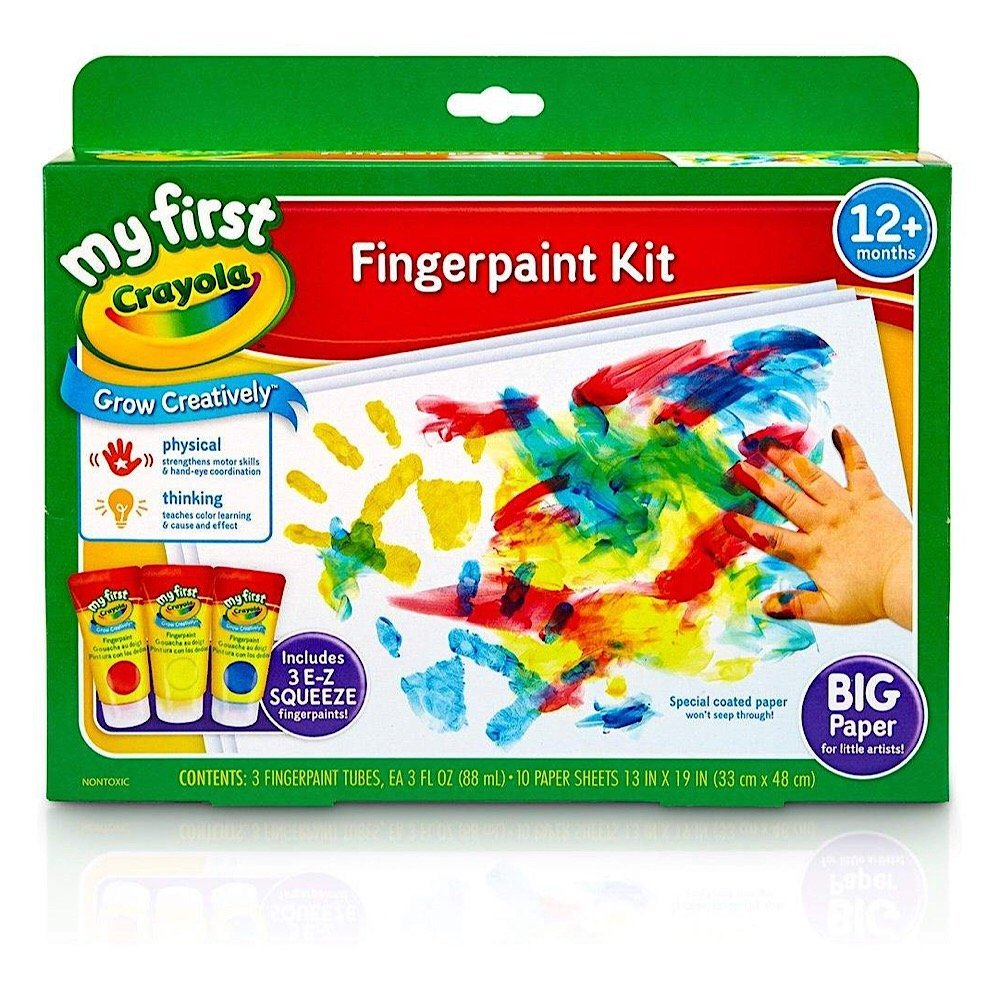 Crayola, Fingerpaint, Washable