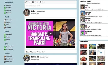Facebook for Kids by Kids: Introducing Grom Social