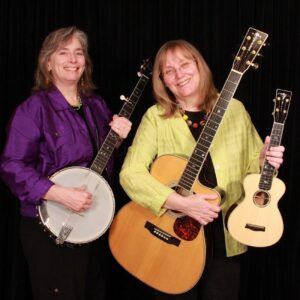 Cathy Fink and Marcy Mixer, music