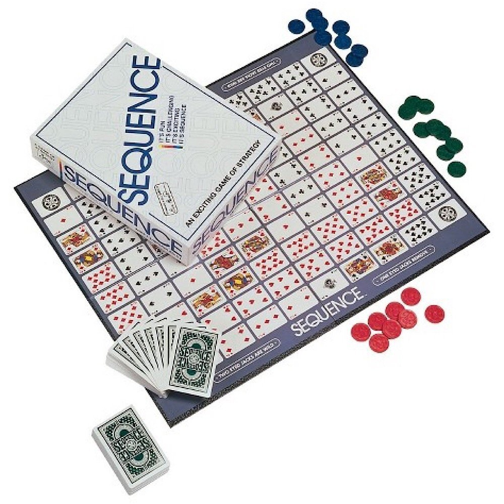 """Card Game Meets Board Game: A Review of """"Sequence"""" by JAX Games"""