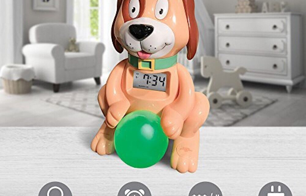 """Alarm Clock Lights: Review of """"Sleep Training Alarm Clock"""" by Big Red Rooster"""