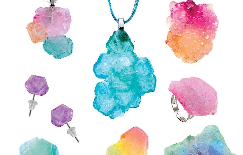 """Review: """"Color Your Mood Crystal Jewelry"""" Set by Faber-Castell"""