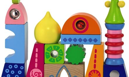 """Unique Building Bocks: Review of """"World of Play Palace"""" by HABA"""