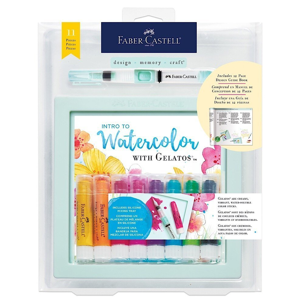 """Review: """"Watercolor with Gelatos"""" by Faber-Castell"""