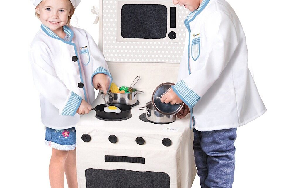 """""""Pop-Oh-Ver"""": Review of a Fabric Pretend-Play Oven"""