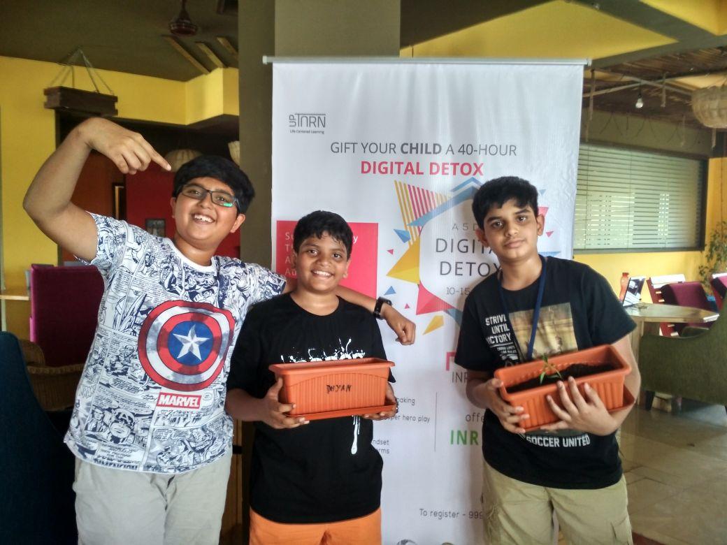 Digital detox Gardening | Kidskintha