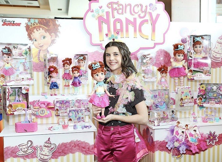 Nancy Classic Fancy Nancy Girls Story Book Character Toddler Costume
