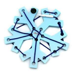 Skola Toys- Threading Snowflake