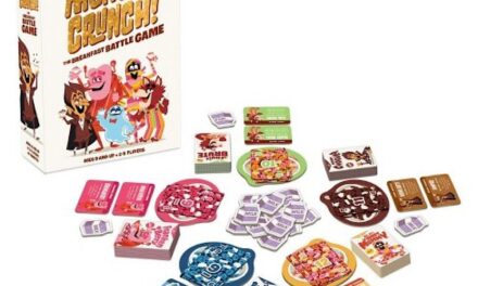 """""""Monster Crunch!"""": A Board Game Inspired By Cereal"""