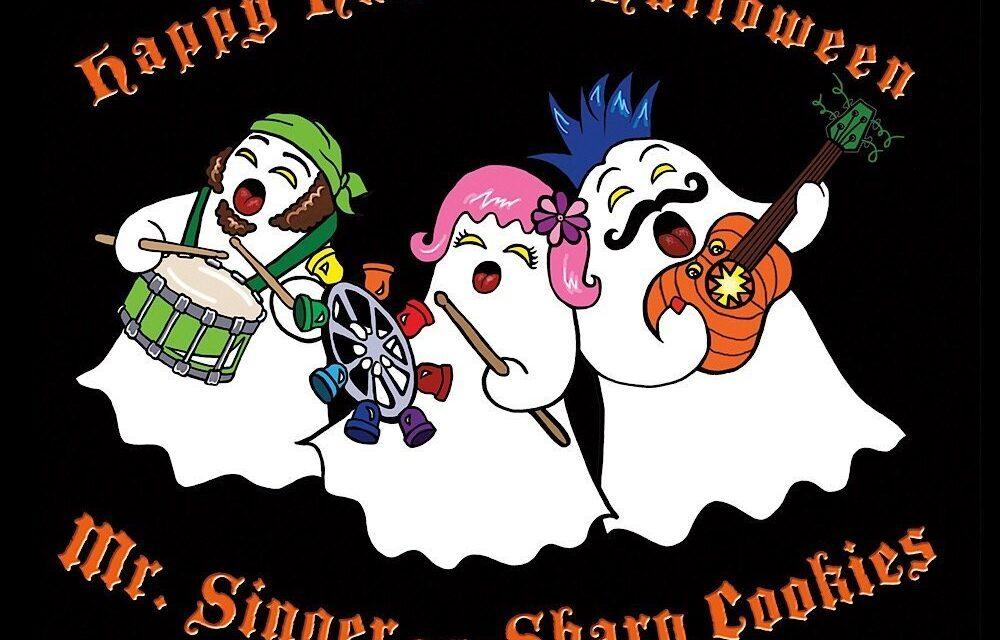 """Mr. Singer & the Sharp Cookies Presents """"Happy Haunted Halloween"""""""