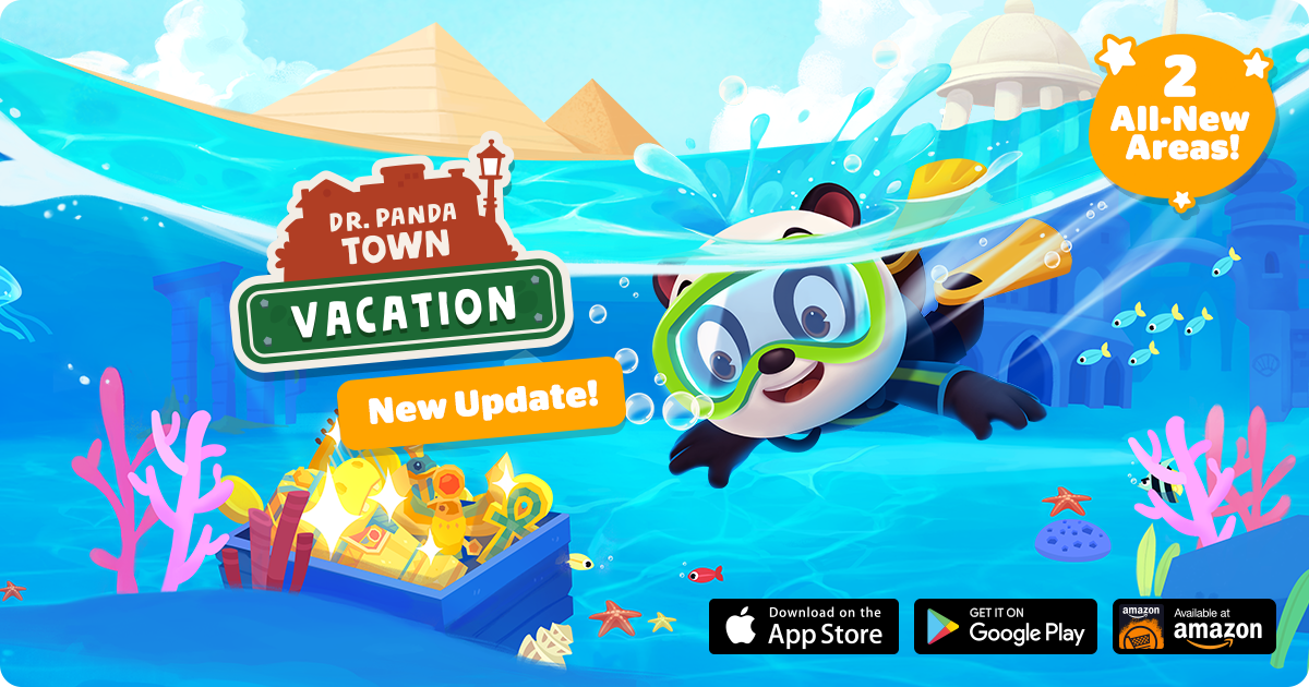 Dr. Panda Town: Vacation!