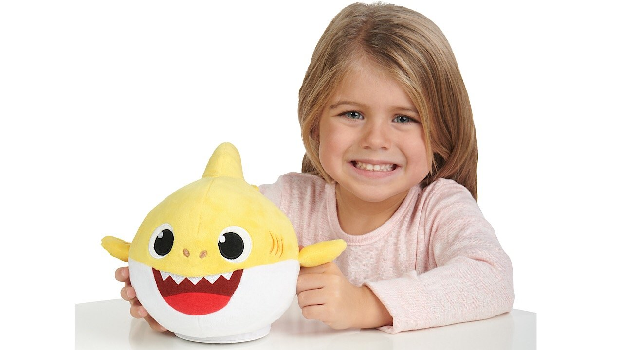 Pinkfong Baby Shark Official Dancing Doll