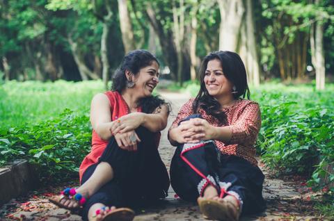 Divya Batra and Pragya Batra