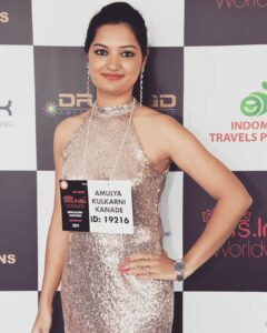 Haut Monde Mrs. India Worldwide Amulya Kulkarni