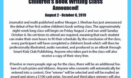 Author Meagan J. Meehan Announces Children's Book Writing Class–Get YOUR Story Published