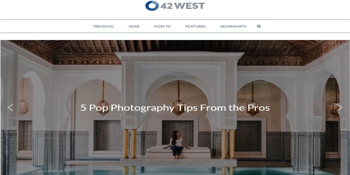 Teaching Photography Basics- 42 West