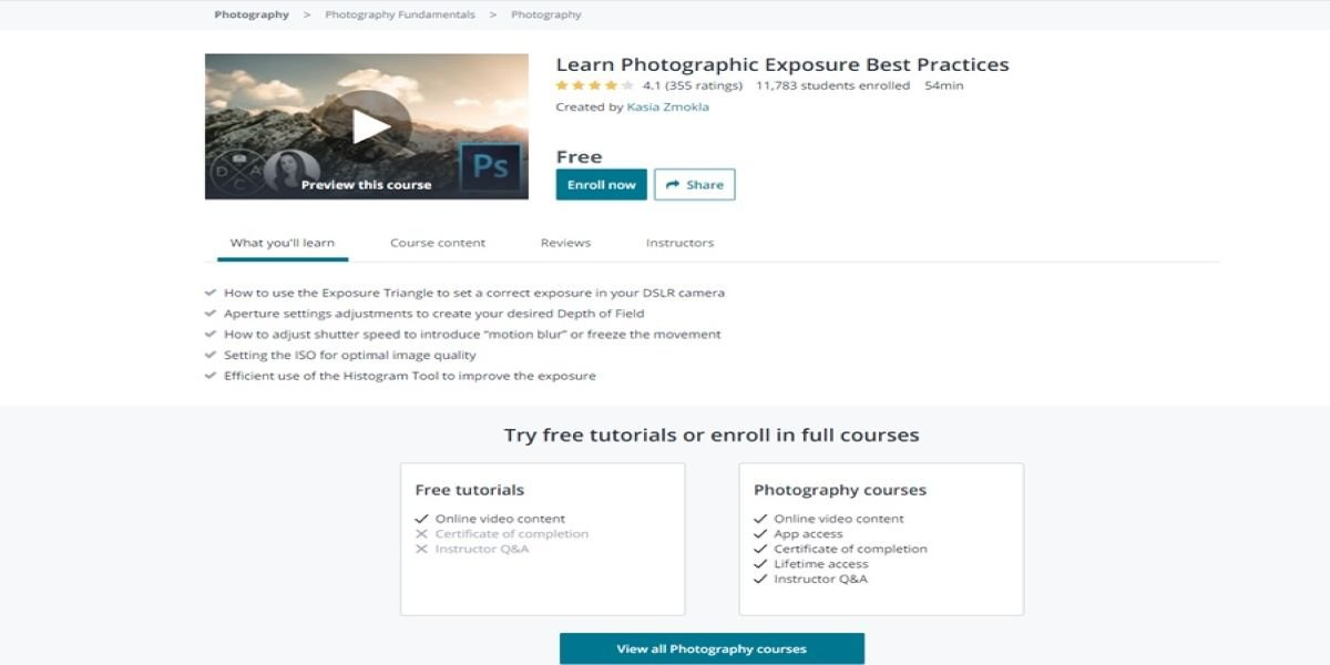 Teaching Photography Basics- Learn Photographic Exposure Best Practices
