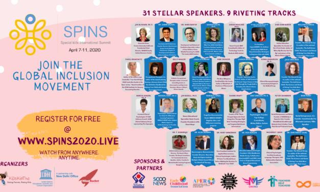 Event Alert: The Virtual Special Kids International Summit 2020( A UNESCO event)