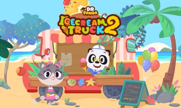 "Dr. Panda Releases ""Ice Cream Truck 2"" App"