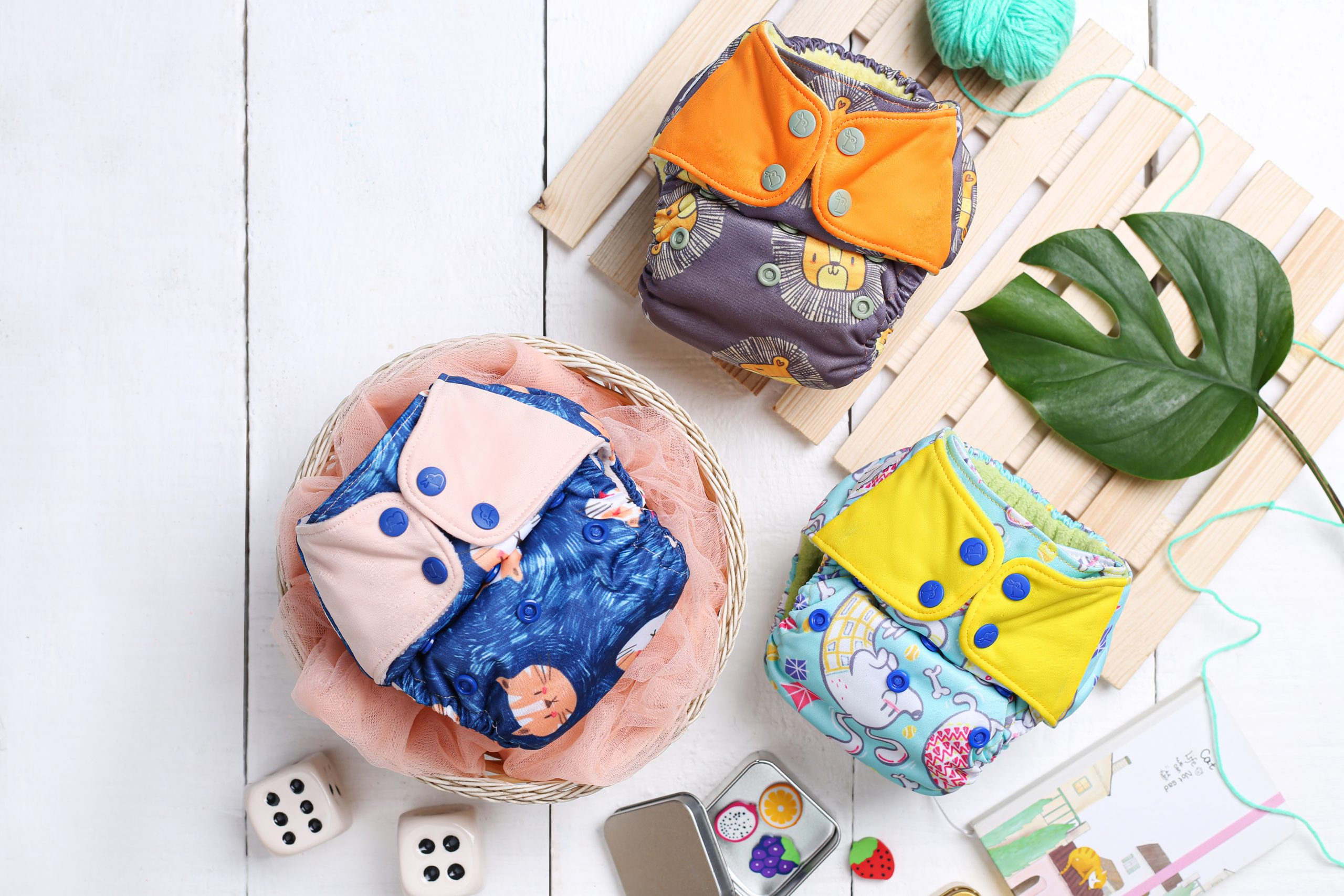 Superbottoms UNO Cloth diapers