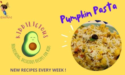 Pumpkin Pasta Recipe for Kids in #Kiddilicious: Healthy, delicious recipes every week!
