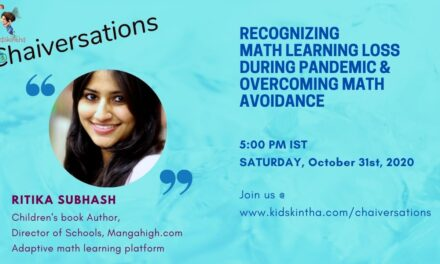 Recognizing Math Learning Loss During Pandemic And Overcoming Math Avoidance with Ritika Subhash