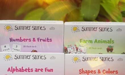 Summer Stories: Presenting Traditional Flashcards with A Twist