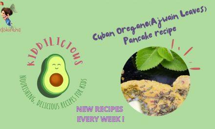 Cuban oregano recipe: Indian salted pancake with Ajwain leaves