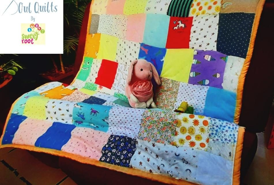 Handmade Memory Quilts From Old Baby Clothes: Upcycle Fond Memories With Soul Quilts